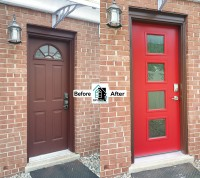 Crystal Exteriors-ProVia-20 Gauge-steel-door-Silver Spring-Montgomery-County-Maryland-MD-20902-VM1