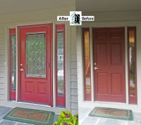 Crystal Exteriors-ProVia-Legacy-20 Gauge-steel-door-sidelite-Columbia-Howard County-Maryland-MD-21044