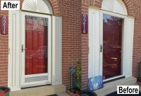 Crystal Exteriors-Provia-Heritage-fiberglass-entry-door-Deluxe-storm-Laurel-Prince Georges-County-Maryland-MD-20238-KF1